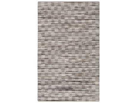 Surya Apis Rectangular Light Gray & Chocolate Area Rug
