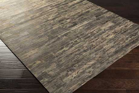 Surya Appalachian Rectangular Taupe & Black Area Rug