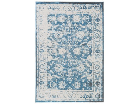 Surya Apricity Rectangular White, Khaki & Medium Gray Area Rug