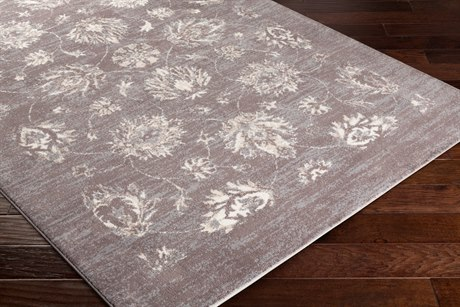 Surya Apricity Rectangular Cream, Medium Gray & Taupe Area Rug