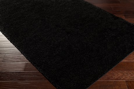 Surya Arlie Rectangular Black Area Rug
