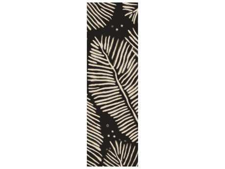 Surya Artisan 2'6'' x 8' Rectangular Charcoal Runner Rug