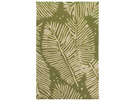 Surya Artisan Rectangular Lime Area Rug