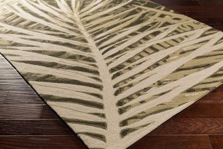 Surya Artisan Rectangular Olive Area Rug