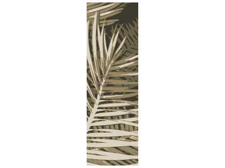 Surya Artisan 2'6'' x 8' Rectangular Olive Runner Rug
