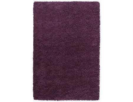 Surya Aros Rectangular Purple Area Rug