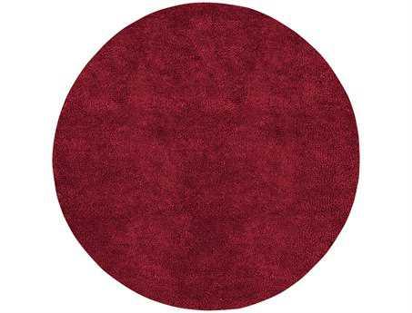 Surya Aros Round Red Area Rug