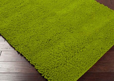 Surya Aros Rectangular Green Area Rug