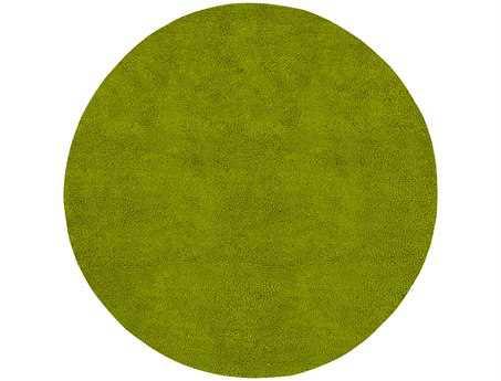 Surya Aros Round Green Area Rug
