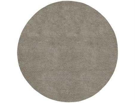 Surya Aros Round Gray Area Rug