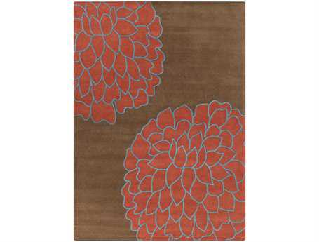 Surya Artist Studio Rectangular Red Area Rug