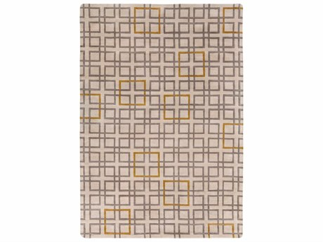 Surya Artist Studio Rectangular Gray Area Rug