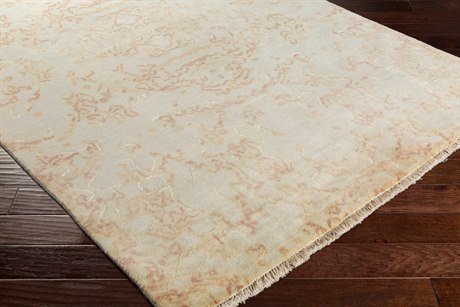 Surya Atmospheric Rectangular Khaki, Rose & Peach Area Rug
