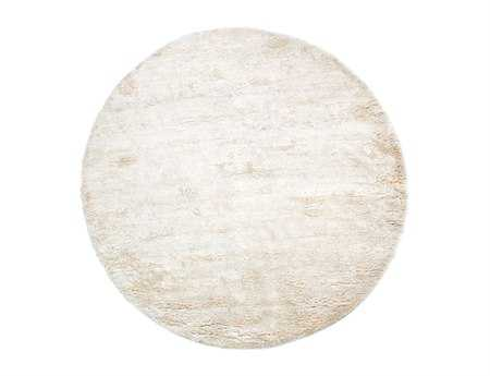 Surya Ashton 8' Round White Area Rug