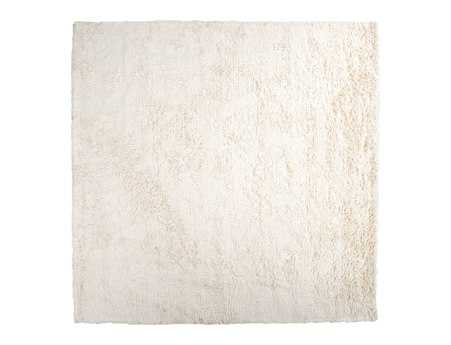 Surya Ashton 8' Square White Area Rug
