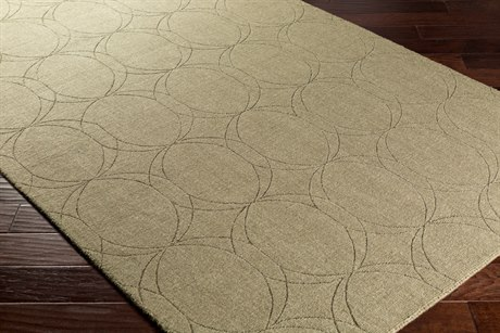 Surya Ashlee Rectangular Olive Area Rug