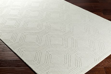 Surya Ashlee Rectangular Sea Foam Area Rug