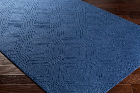 Surya Ashlee Rectangular Navy Area Rug
