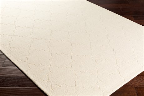 Surya Ashlee Rectangular Cream Area Rug