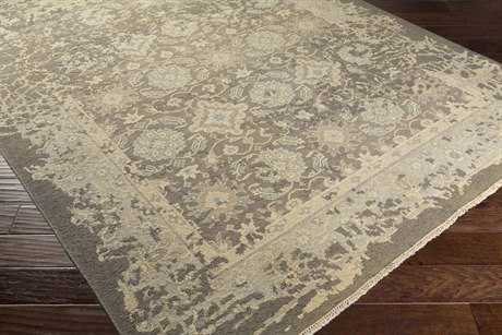 Surya Artifact Rectangular Camel, Taupe & Medium Gray Area Rug