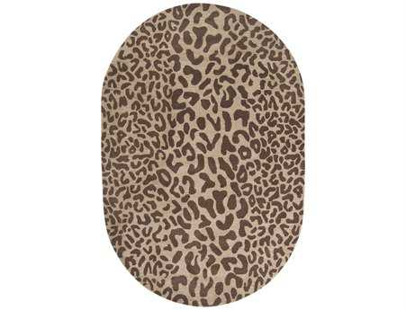 Surya Athena Oval Brown Area Rug