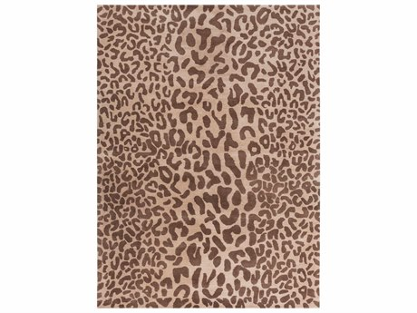 Surya Athena Rectangular Brown Area Rug