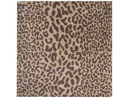 Surya Athena Square Brown Area Rug