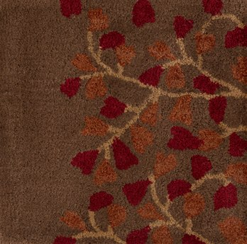 Surya Athena Red 2' x 4' Hearth Rug