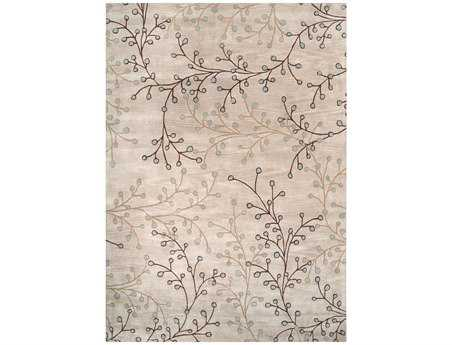 Surya Athena Rectangular Gray Area Rug
