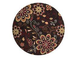 Surya Athena Round Brown Area Rug