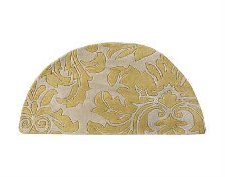Surya Athena Yellow 2' x 4' Hearth Rug