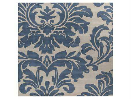 Surya Athena Square Blue Area Rug