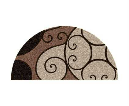 Surya Athena Beige 2' x 4' Hearth Rug
