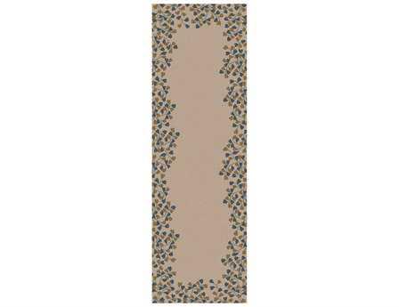 Surya Athena 2'6'' x 8' Rectangular Beige Runner Rug