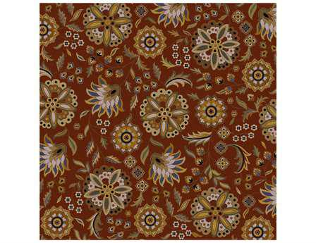 Surya Athena Square Red Area Rug
