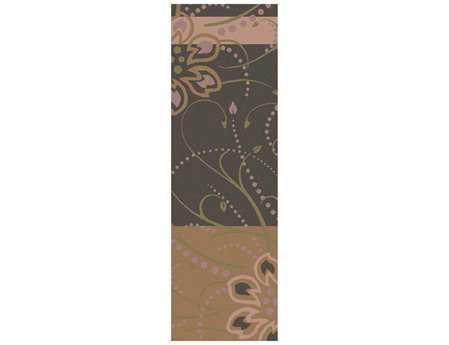 Surya Athena 2'6'' x 8' Rectangular Brown Runner Rug