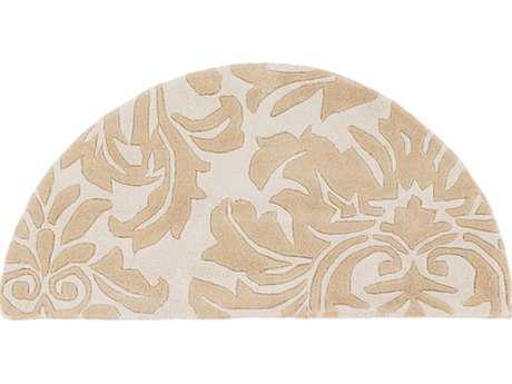 Surya Athena 2' x 4' Hearth Camel & Beige Area Rug