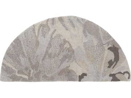 Surya Athena 2' x 4' Hearth Taupe, Light Gray & Charcoal Area Rug