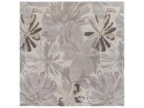 Surya Athena Square Taupe, Light Gray & Charcoal Area Rug