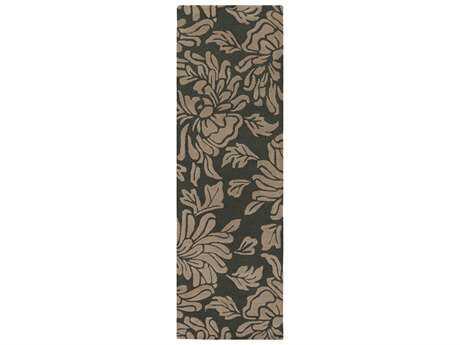 Surya Athena 2'6'' x 8' Rectangular Gray & Ivory Runner Rug