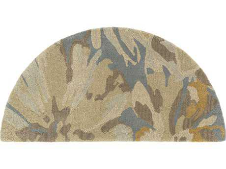 Surya Athena 2' x 4' Hearth Beige, Camel & Teal Area Rug