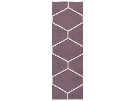 Surya Atrium 2'6'' x 8' Rectangular Eggplant Runner Rug
