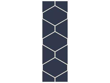 Surya Atrium 2'6'' x 8' Rectangular Navy Runner Rug