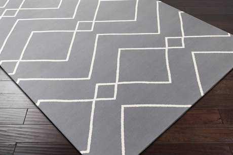 Surya Atrium Rectangular Gray Area Rug