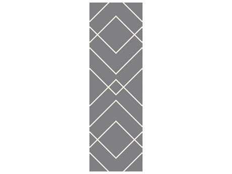 Surya Atrium 2'6'' x 8' Rectangular Gray Runner Rug