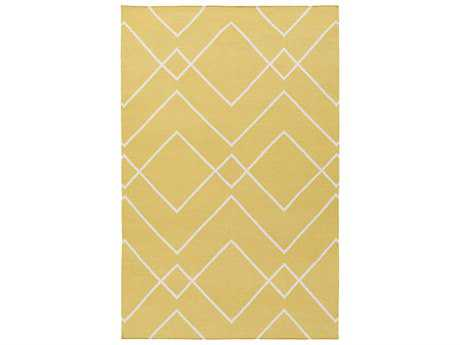 Surya Atrium Rectangular Gold Area Rug