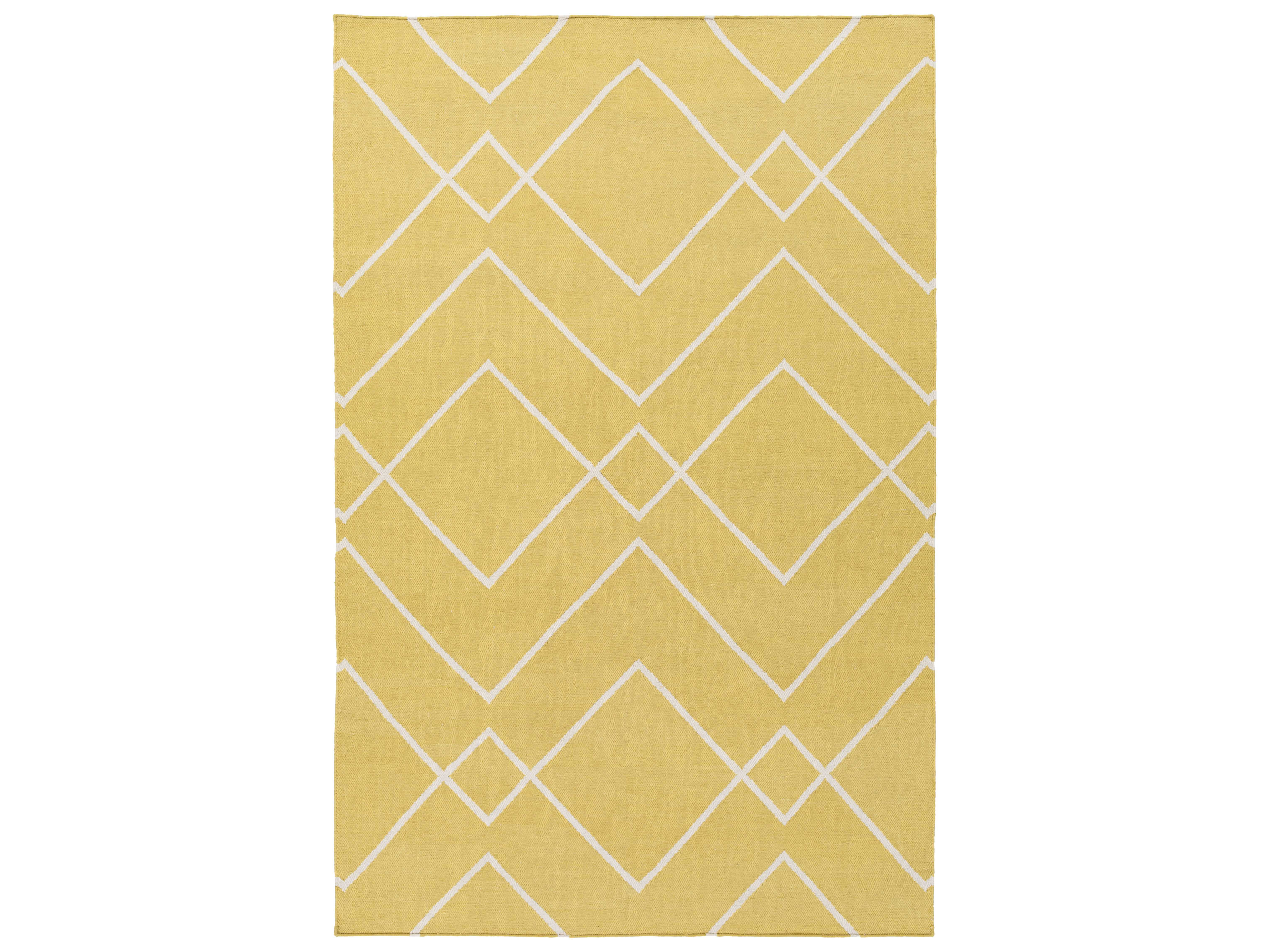 garrard handwoven yellow area rug