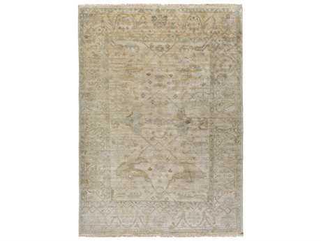 Surya Antique Rectangular Sage, Khaki & Camel Area Rug