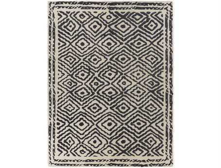 Surya Atlas Rectangular Gray Area Rug