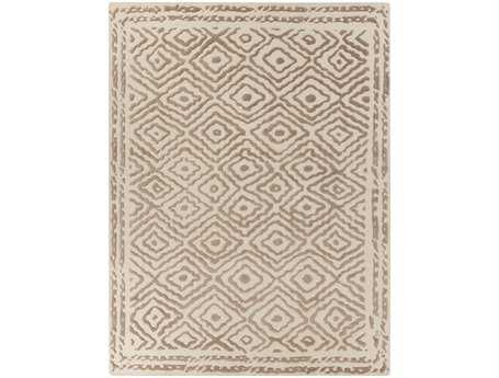Surya Atlas Rectangular Beige Area Rug